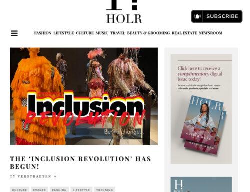 HOLR Magazine: The 'Inclusion Revolution' Has Begun!